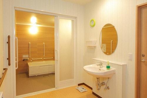 浴室 ウェルライフヴィラ新さっぽろ(サービス付き高齢者向け住宅(サ高住))の画像