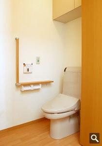 トイレ 「遊楽館」青葉(有料老人ホーム[特定施設])の画像