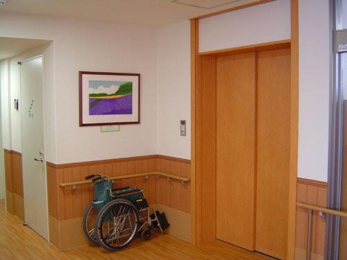 エレベーター ニチイケアセンター厚別(有料老人ホーム[特定施設])の画像