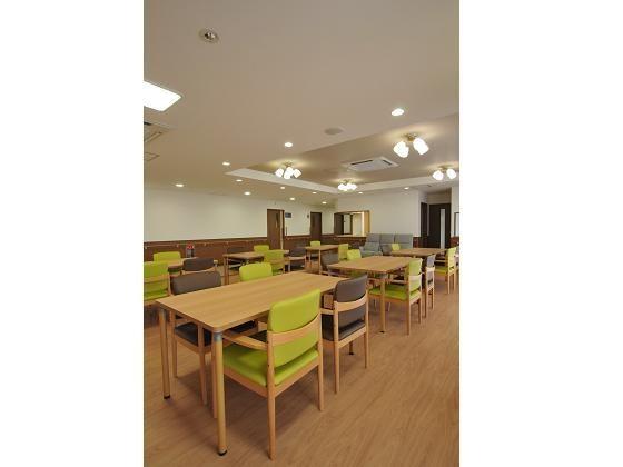 食堂 アースサポートクオリア仙台大和町(有料老人ホーム[特定施設])の画像