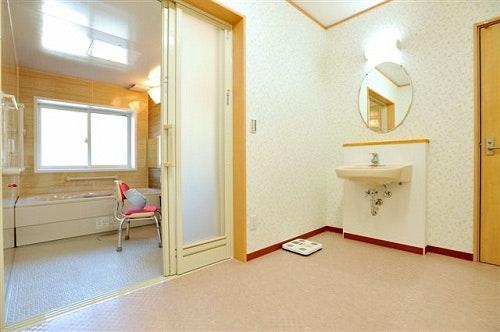 浴室・洗面台 ウェルライフヴィラ岩切(サービス付き高齢者向け住宅(サ高住))の画像