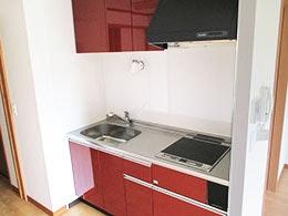 居室キッチン カーサコンテンチ(サービス付き高齢者向け住宅(サ高住))の画像