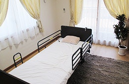 寝室 カーサコンテンチ(サービス付き高齢者向け住宅(サ高住))の画像