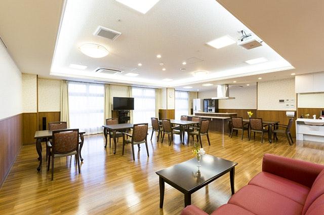 食堂 アサヒサンクリーン仙台広瀬(有料老人ホーム[特定施設])の画像