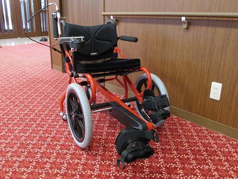 足漕ぎ車いす アサヒサンクリーン仙台広瀬(有料老人ホーム[特定施設])の画像