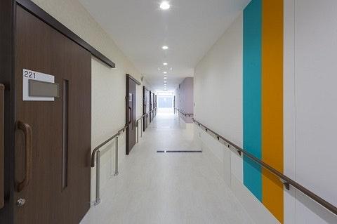 廊下 ニューソフィア二の宮(サービス付き高齢者向け住宅(サ高住))の画像