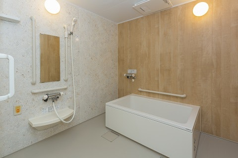 浴室 ニューソフィア二の宮(サービス付き高齢者向け住宅(サ高住))の画像