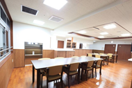 ホール(食堂兼機能訓練室) ヒューマンサポート古河(有料老人ホーム[特定施設])の画像