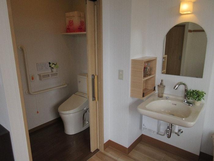 洗面スペース あおぞら里の家(サービス付き高齢者向け住宅(サ高住))の画像