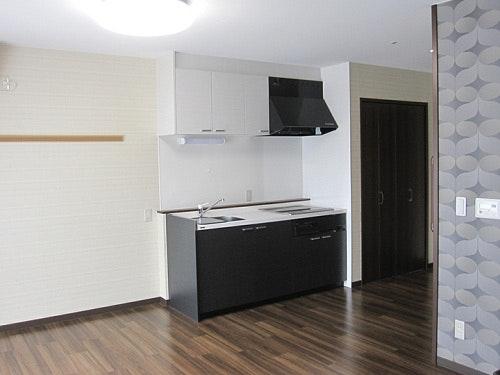 室内キッチン(夫婦部屋) 桜庵(有料老人ホーム[特定施設])の画像
