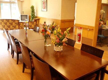 共同生活室① 栃木グループリビングそよ風(サービス付き高齢者向け住宅(サ高住))の画像