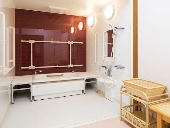 浴室 咲楽パークス日高(住宅型有料老人ホーム)の画像