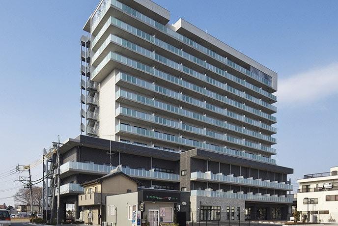 外観 太田駅前ケアパークそよ風(有料老人ホーム[特定施設])の画像