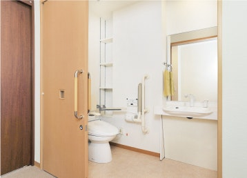 グッドタイムホーム多摩川の居室内トイレ
