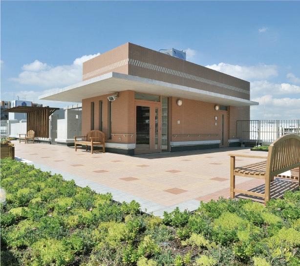 屋上庭園 グッドタイムホーム多摩川(有料老人ホーム[特定施設])の画像