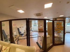 SOMPOケアラヴィーレ町田小野路の機能訓練室