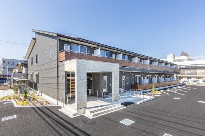 外観 エルダーガーデン大和(サービス付き高齢者向け住宅(サ高住))の画像