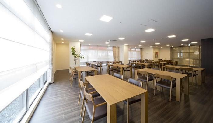 食堂 カーサプラチナ日吉(有料老人ホーム[特定施設])の画像