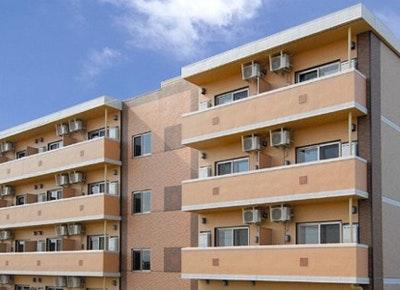施設外観 リーシェ亀田中島(サービス付き高齢者向け住宅(サ高住))の画像