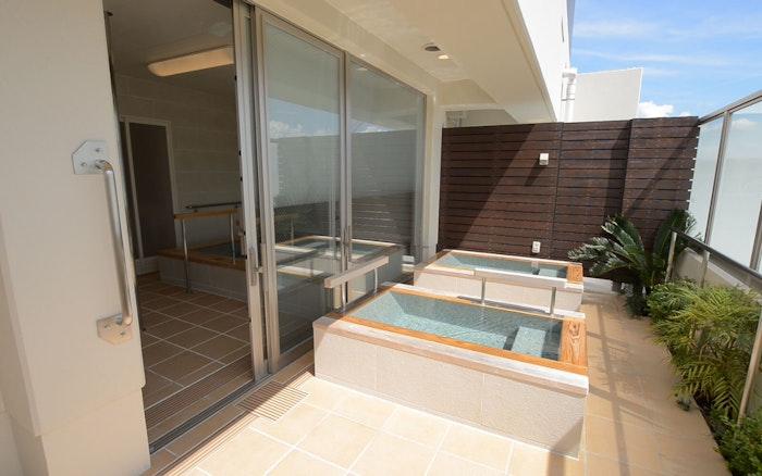 露天風呂付き大浴場 ペピイ・ハッピープレイスTAMATSUKURI(住宅型有料老人ホーム)の画像