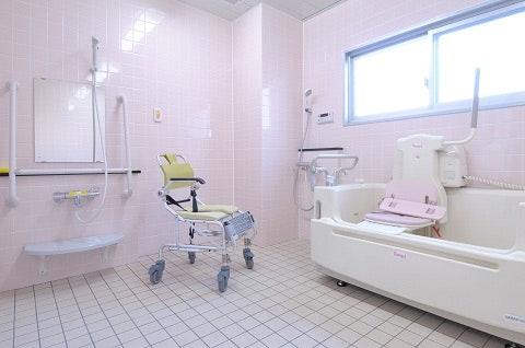 浴室 やさしい手 ライブガーデン宝塚(サービス付き高齢者向け住宅(サ高住))の画像
