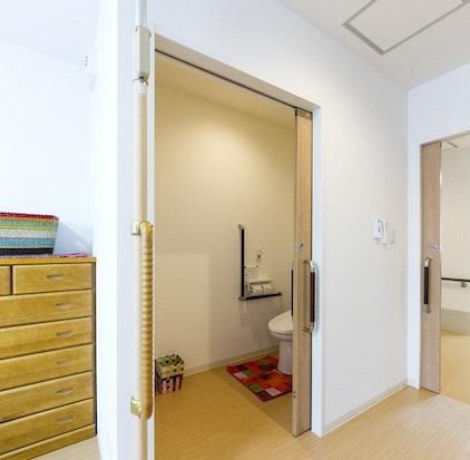 トイレ サンホーム東加古川駅前(サービス付き高齢者向け住宅(サ高住))の画像