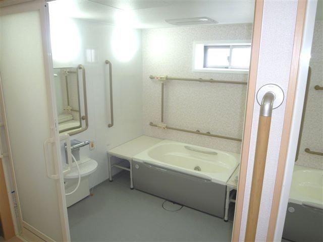 浴室 そうせい園部(サービス付き高齢者向け住宅(サ高住))の画像