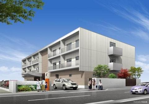 アルファリビング高松松縄(サービス付き高齢者向け住宅)の写真