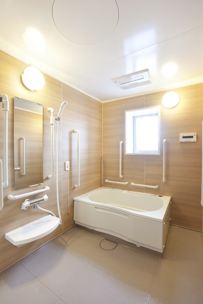 介護浴室 アルファリビング鹿児島東千石(住宅型有料老人ホーム)の画像